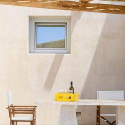 King Albus Villa in Pyrgos of Santorini island designed Kapsimalis Architects