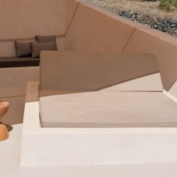 Albus Villas in Pyrgos of Santorini island designed Kapsimalis Architects